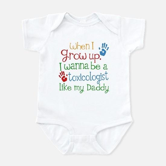 Toxicologist Like Daddy Infant Bodysuit