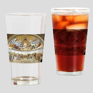 Disputa by Raphael Drinking Glass