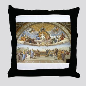Disputa by Raphael Throw Pillow