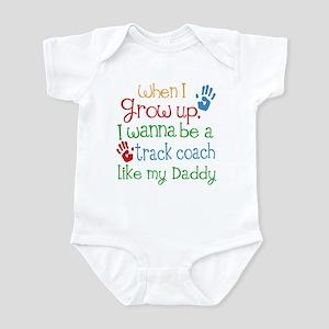Track Coach Like Daddy Infant Bodysuit