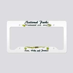 National Parks Centennial License Plate Holder