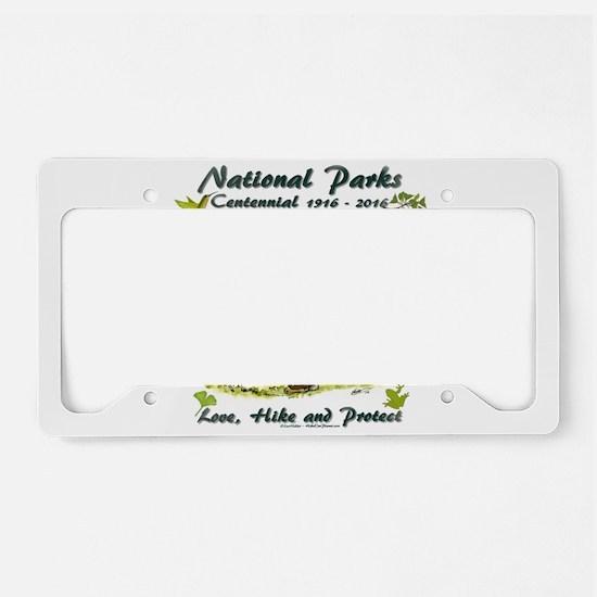 National Parks Centennial License Plate Holder