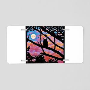 Moonrise Aluminum License Plate