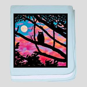 Moonrise baby blanket