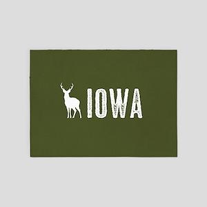 Deer: Iowa 5'x7'Area Rug