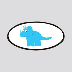 Cute Triceratops Dinosaur Patch