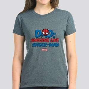 Amazing Spider-Man Dad Women's Dark T-Shirt