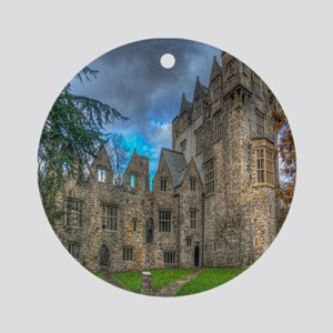 Donegal Castle Round Ornament