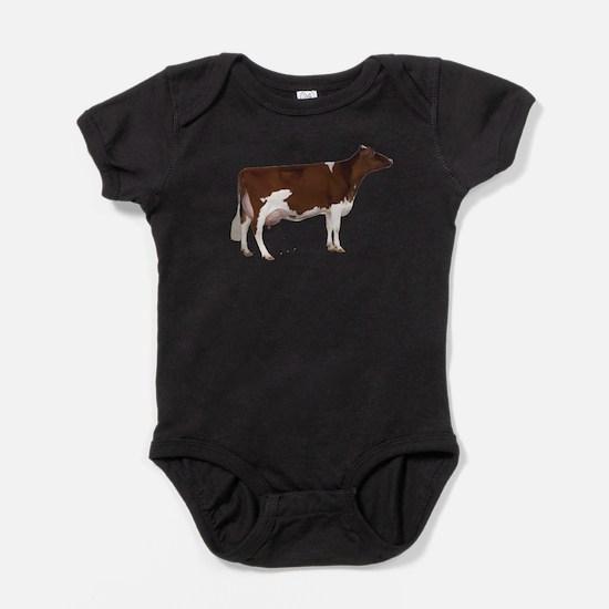 Cute Dairy cows Baby Bodysuit