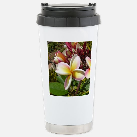 Plumeria Travel Mug