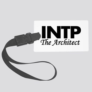 INTP | The Architect Large Luggage Tag