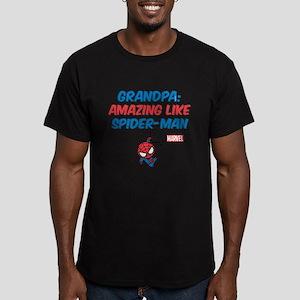 Amazing Spider-Man Gra Men's Fitted T-Shirt (dark)