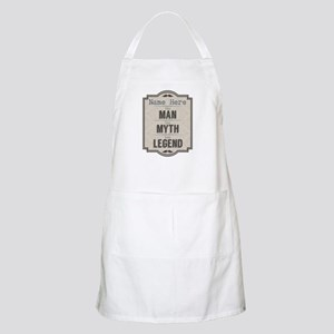 Personalized Man Myth Legend Apron