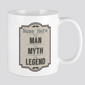 Personalized Man Myth Legend Mug