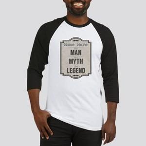 Personalized Man Myth Legend Baseball Jersey