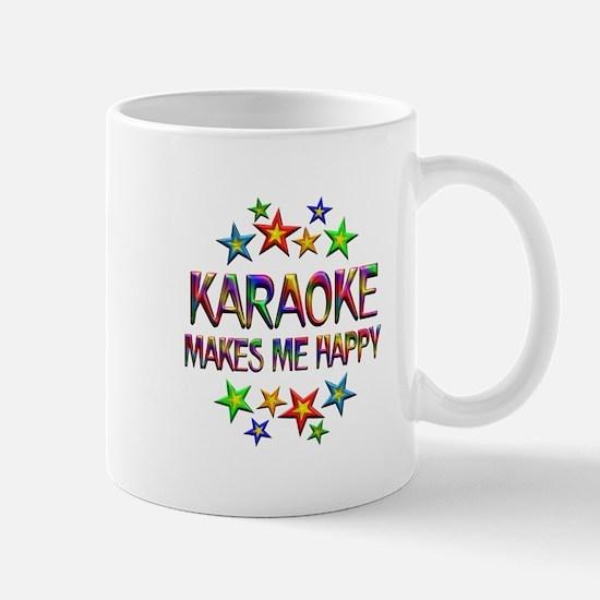 Karaoke Happy Mug