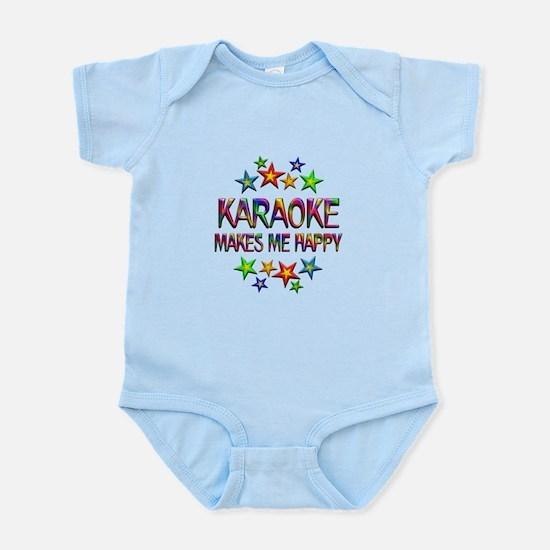 Karaoke Happy Infant Bodysuit