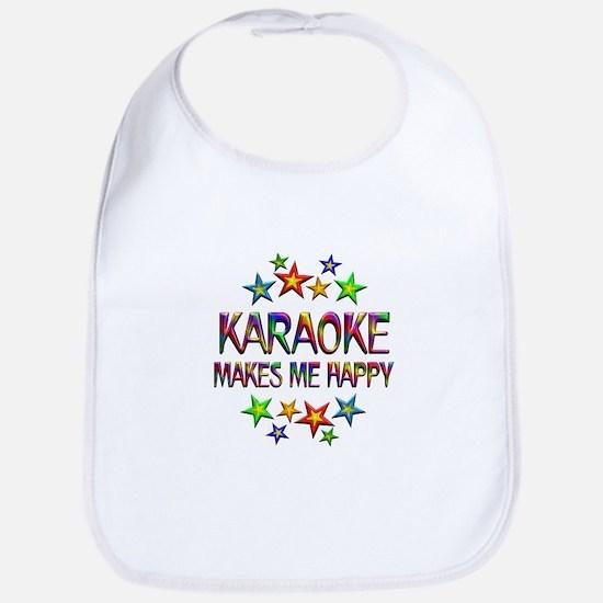Karaoke Happy Bib