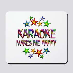 Karaoke Happy Mousepad
