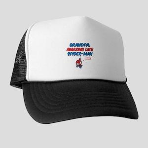 f27ee31595c Amazing Spider-Man Grandpa Trucker Hat