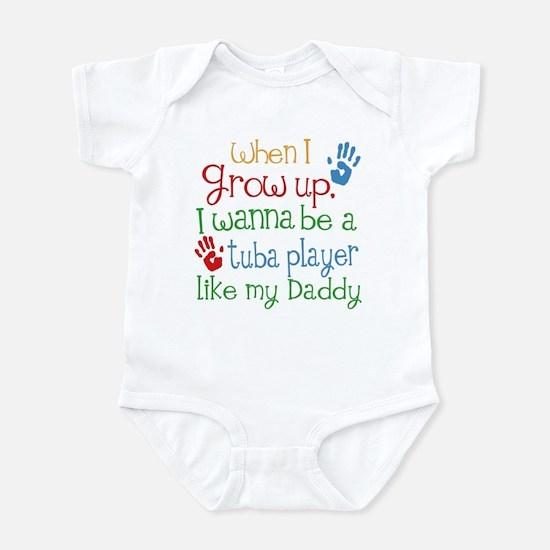 Tuba Player Like Daddy Infant Bodysuit