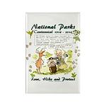 National Parks Centennial Magnets