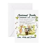 National Parks Centennial Greeting Cards