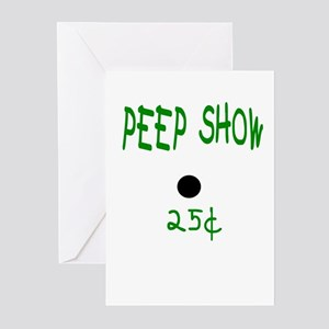 PEEP SHOW Greeting Cards (Pk of 10)