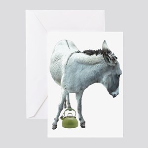 ASS-OVER-TEAKETTLE Greeting Cards (Pk of 10)