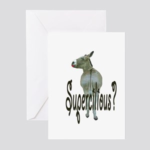 SUPERCILIOUS ASS Greeting Cards (Pk of 10)