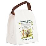 National Parks Centennial Canvas Lunch Bag