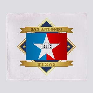 San Antonio Throw Blanket