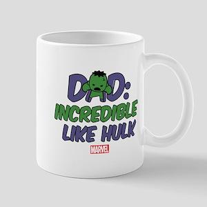 Incredible Hulk Dad Mug