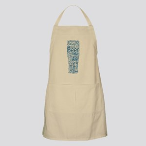 Beer Typography Apron