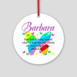 HEBREWS 11:1 Round Ornament