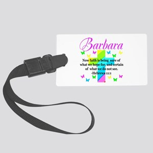 HEBREWS 11:1 Large Luggage Tag
