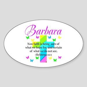 HEBREWS 11:1 Sticker (Oval)