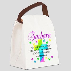HEBREWS 11:1 Canvas Lunch Bag