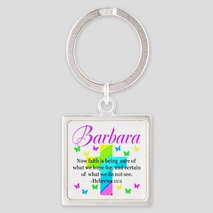 HEBREWS 11:1 Square Keychain
