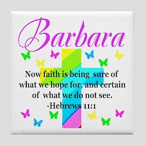 HEBREWS 11:1 Tile Coaster