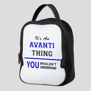 It's an AVANTI thing, you would Neoprene Lunch Bag