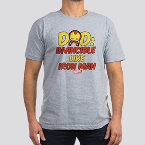 Invincible Iron Man Da Men's Fitted T-Shirt (dark)