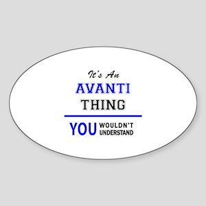 It's an AVANTI thing, you wouldn't underst Sticker