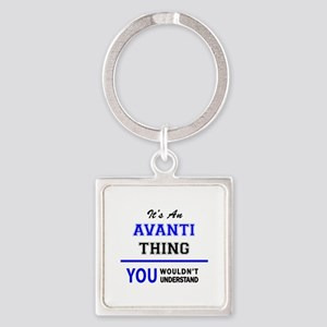 It's an AVANTI thing, you wouldn't under Keychains