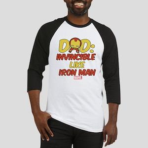 Invincible Iron Man Dad Baseball Jersey