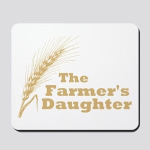 The Farmer's Daughter Mousepad