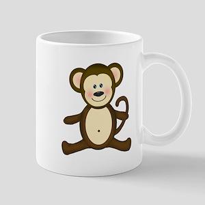 Smiling Baby Monkey Mugs