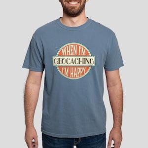 happy geocacher White T-Shirt