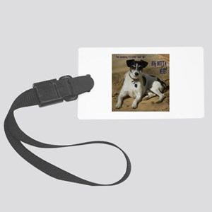 Outta Here Large Luggage Tag