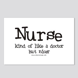Nurse like Doctor Postcards (Package of 8)